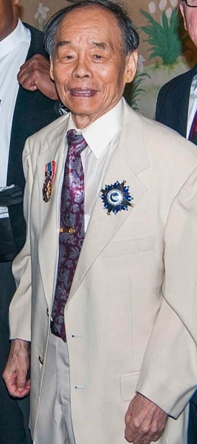 Grandmaster Jhoon Rhee.