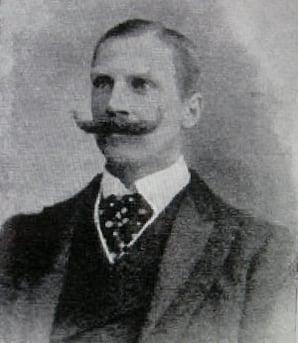 William Barton-Wright, the creator of bartitsu.