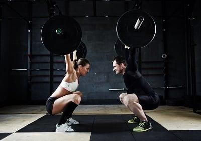 Dead lift weight training