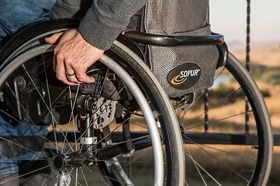 Wheelchair fitness.
