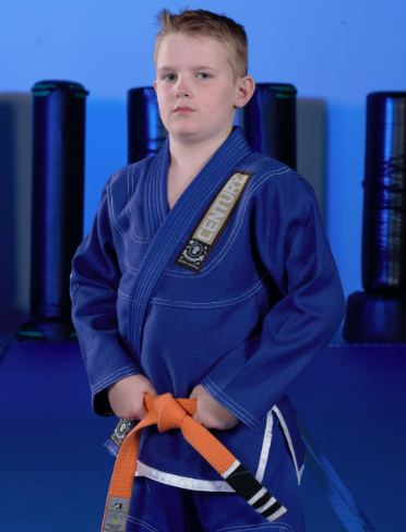 Youth Brazilian jiu-jitsu gi from Century Martial Arts.