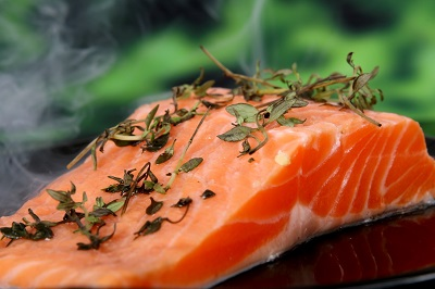 Salmon is a great source of protein, Omega-3s, and other nutrients.