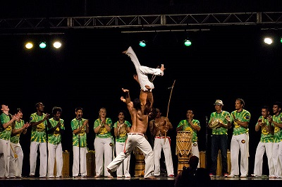 Capoeira at Brazilian pavilion at Folklorama 2013