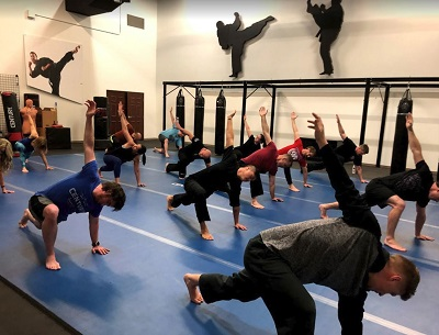 Sleek Ninja with Eric the Trainer at Century Martial Arts.