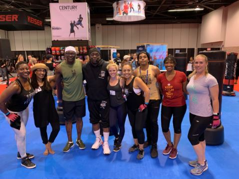Idea world day 2 billy blanks class