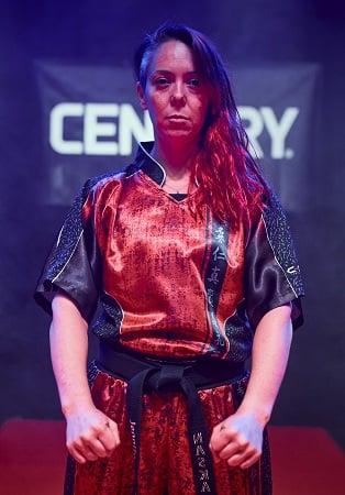 Sensei Jennifer Allman of Firehawk Martial Arts in Oklahoma City.