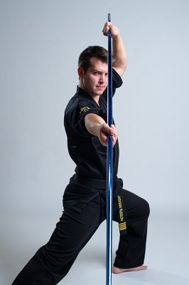 Jackson Rudolph Team Paul Mitchell Karate Signature Series Bo Staff Century Martial Arts
