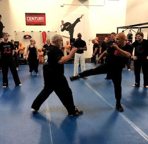 Training Jeet Kune Do with Sifu Harinder Singh at Century Martial Arts.
