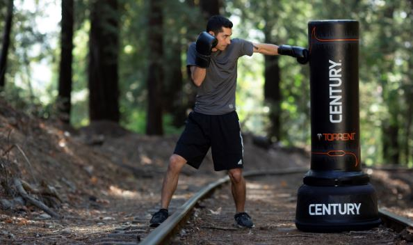 The Torrent T2 freestanding training bag by Century Martial Arts.