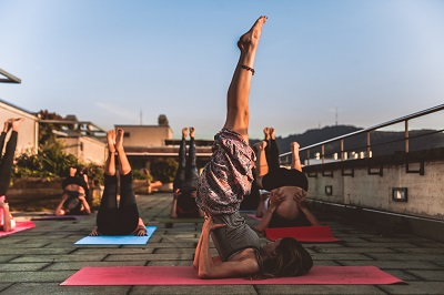amin sujan pexels Yoga helps build flexibility and balance for martial arts.