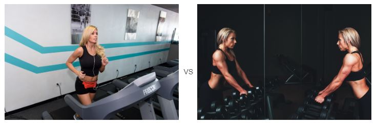 weights or cardio