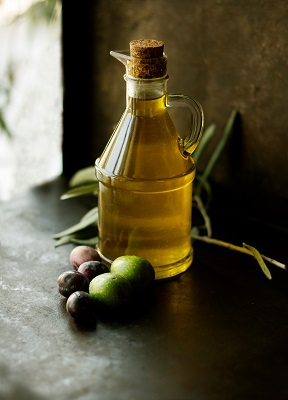 Olive oil is a good source of healthy fat, but it is high calorie and should be used sparingly.