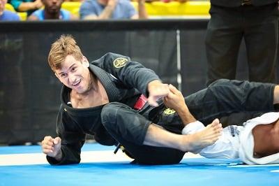 Osvaldo Augusto Queixinho, Gameness Pro Tream athlete in Brazilian jiu-jitsu.