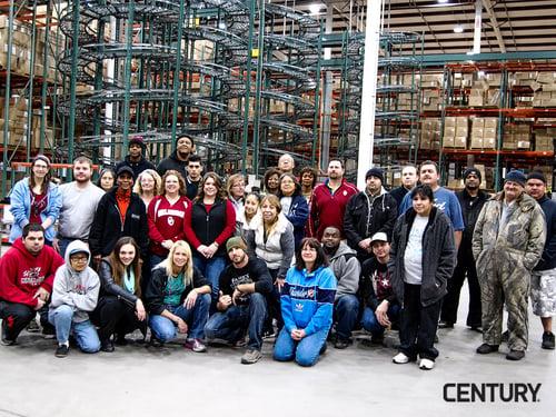 Century Warehouse Employees