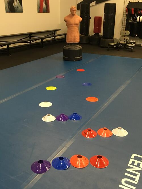 Mix in Martial Arts Obstacle Course