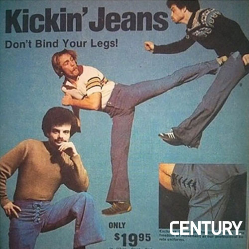 Mike Dillard Kicking Jeans