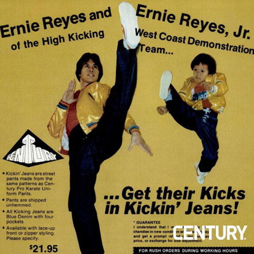 Ernie Reyes Sr. and Jr.