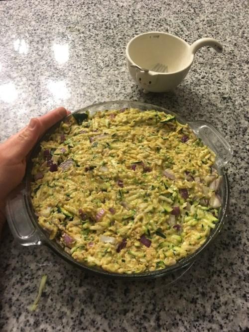 Mixture in Pan