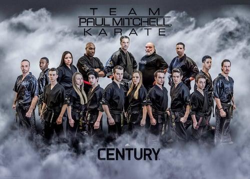 Members of Team Paul Mitchell Karate