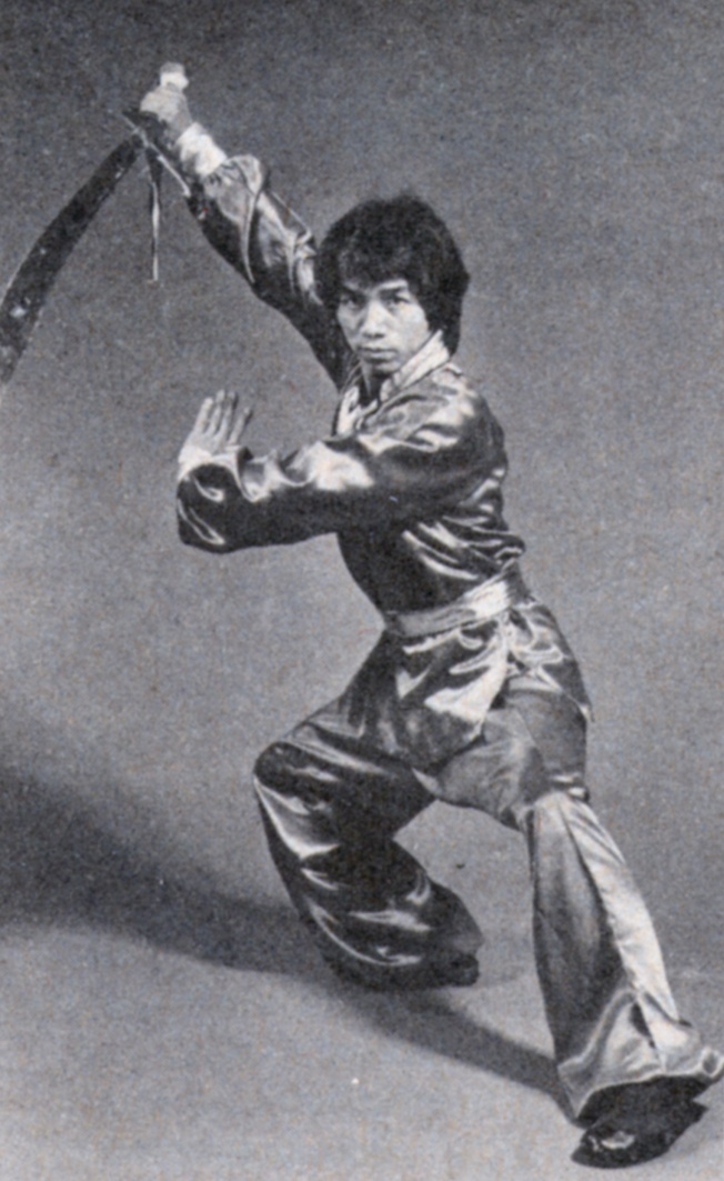 Kung fu master Eric Lee demonstrates a sword form (we'll get to more swords in a minute; don't worry!)