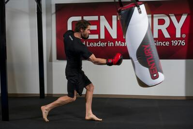 Intense heavy bag work requires thick, sturdy gloves.