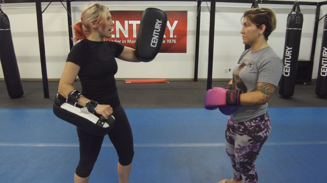 Thai pad partner training is fun, and an amazing cardio workout!