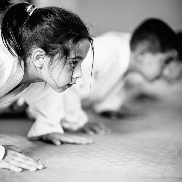 Martial arts is fun, healthy exercise for kids!