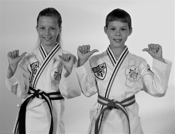 Martial arts teaches children to be confident in themselves.