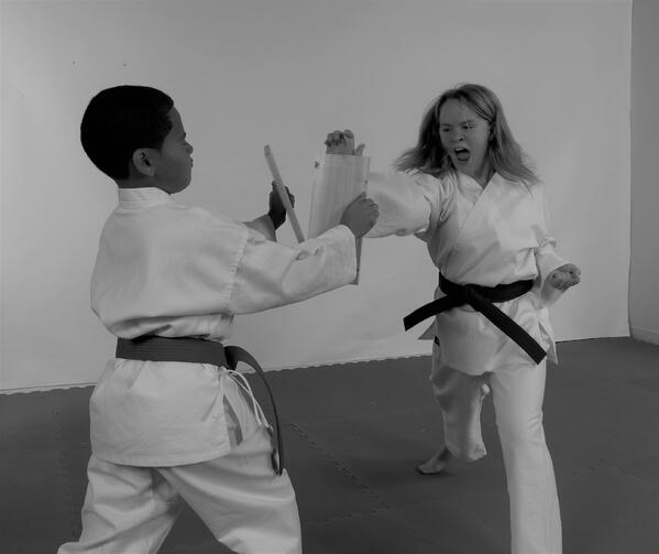 In order to become skilled in martial arts, you must focus on your goals.