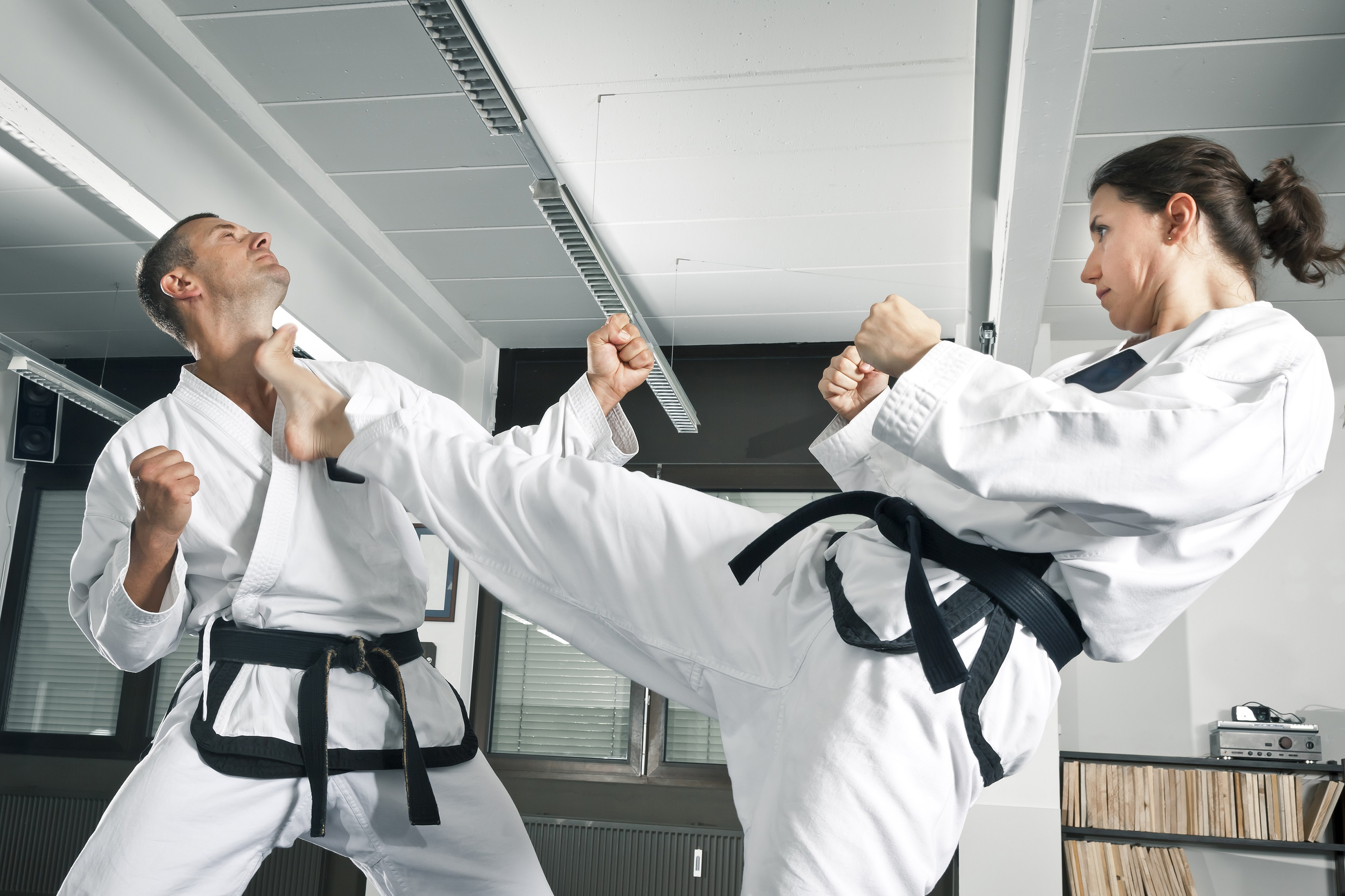 Martial arts are great for fitness and self-defense!