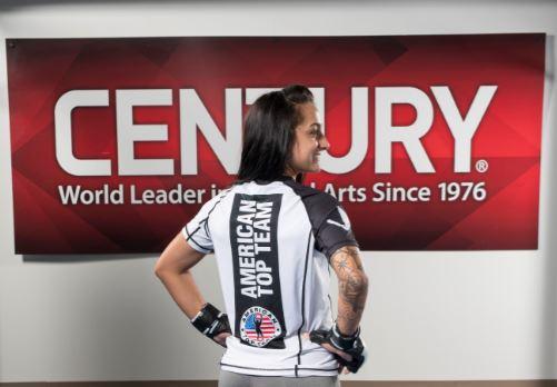 An example of a custom rashguard for American Top Team of Oklahoma City.
