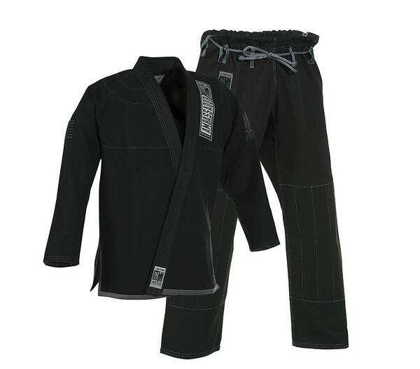 The Ambassador Brazilian Jiu-Jitsu Gi. Very snazzy.