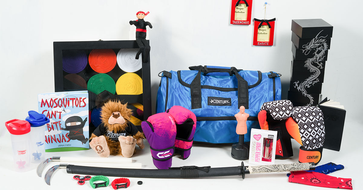 Holiday gifts for martial artists