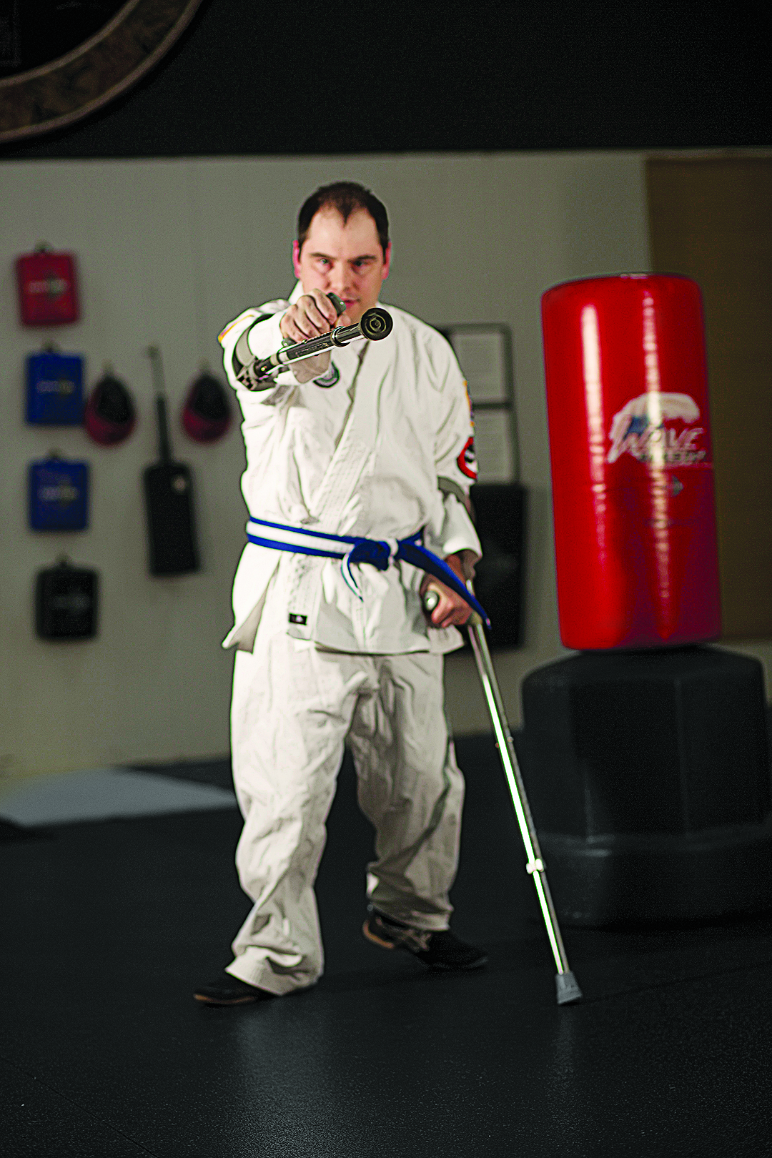 Jason Davis of Adaptive Martial Arts