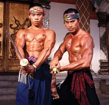 "Reyes Jr. and Sr. starred alongside each other in the 1993 movie ""Surf Ninjas."""