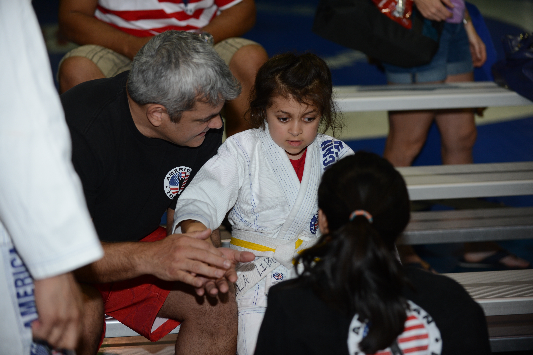 Ricardo Liborio with his daughter, Bella.