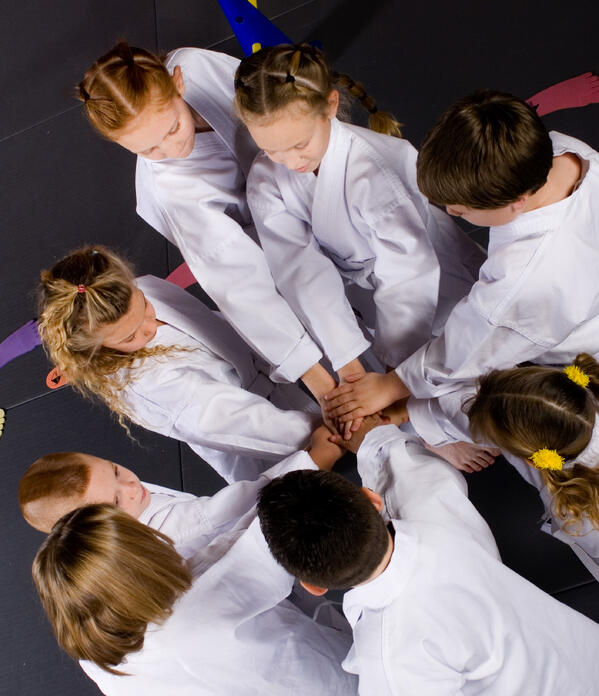 Mutual respect between genders is promoted in martial arts.