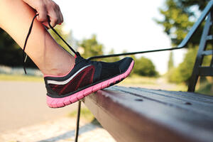 Lace up those shoes and get going! You'll burn off around 100 calories per mile walked.