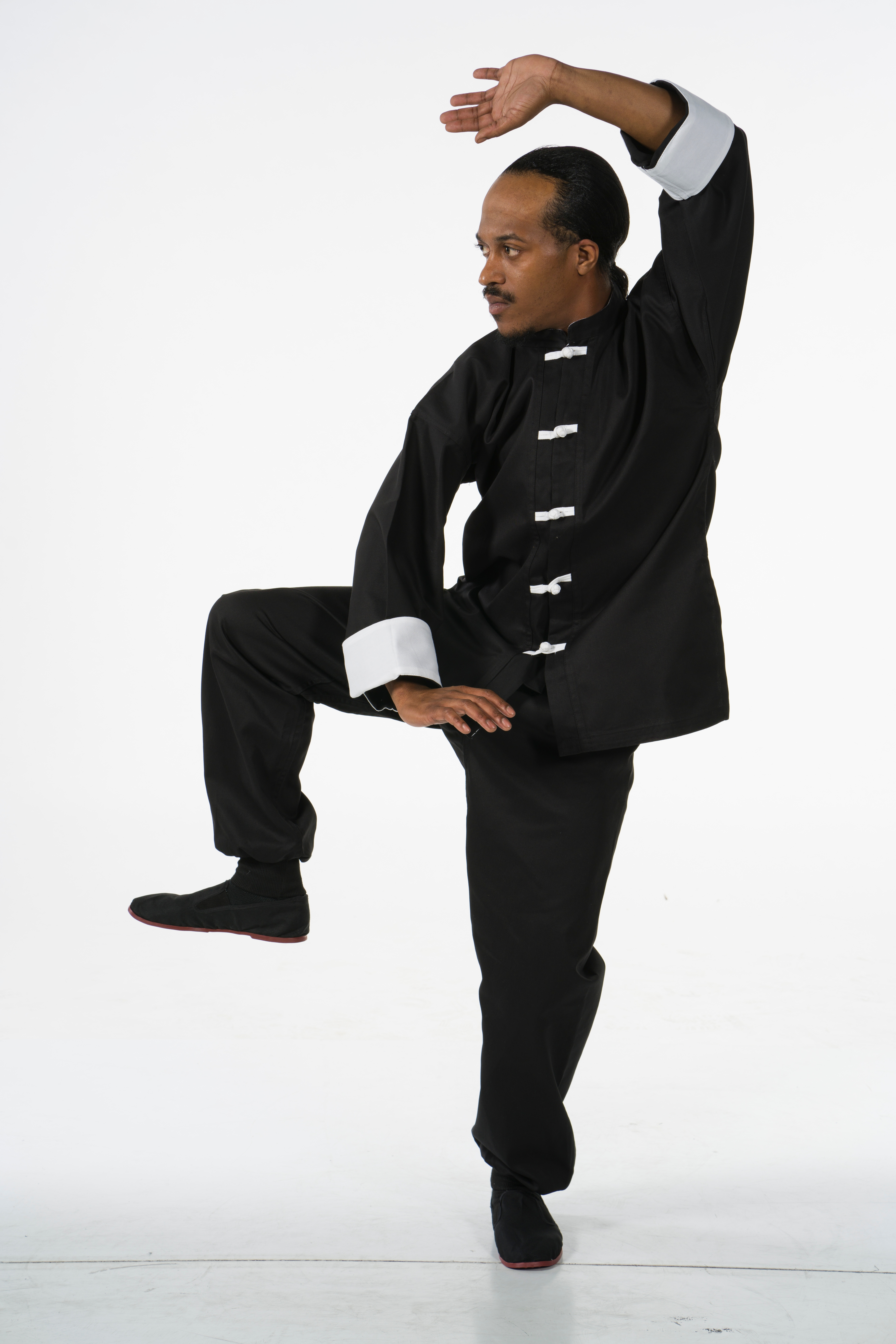 A traditional kung fu uniform. Rob Campbell (pictured) is the sifu of Kung Fu San Soo in Oklahoma City.