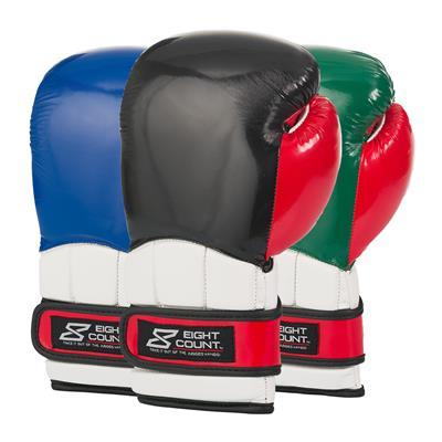 patriotic color block glove