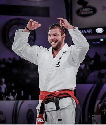 Joao Rocha, member of the Gameness Brazilian Jiu-Jitsu Pro Team.