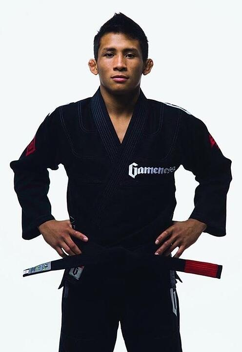 Lucas Pinherio, member of the Gameness Brazilian Jiu-Jitsu Pro Team.