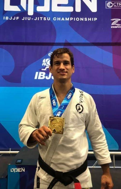 Osvaldo Moizinho, member of the Gameness Brazilian Jiu-Jitsu Pro Team.