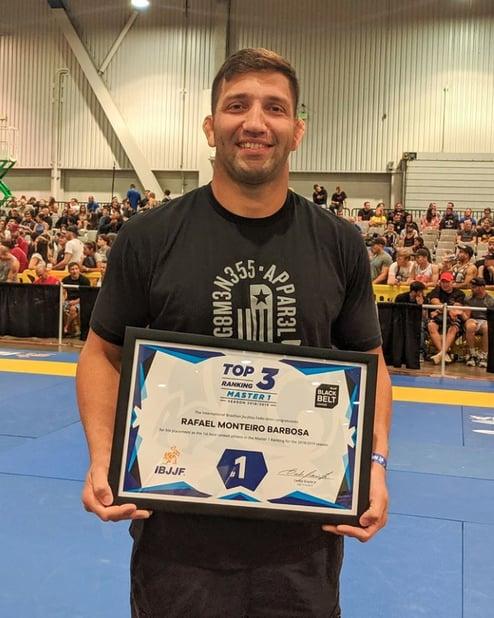 Rafael Barbosa, member of the Gameness Brazilian Jiu-Jitsu Pro Team.