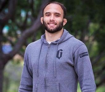 Samir Chantre, member of the Gameness Brazilian Jiu-Jitsu Pro Team.