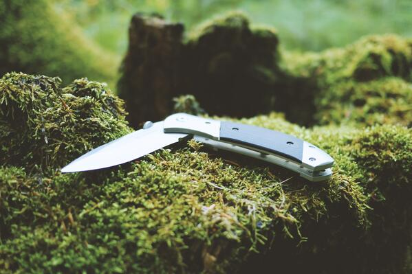 Knives are great wilderness tools.