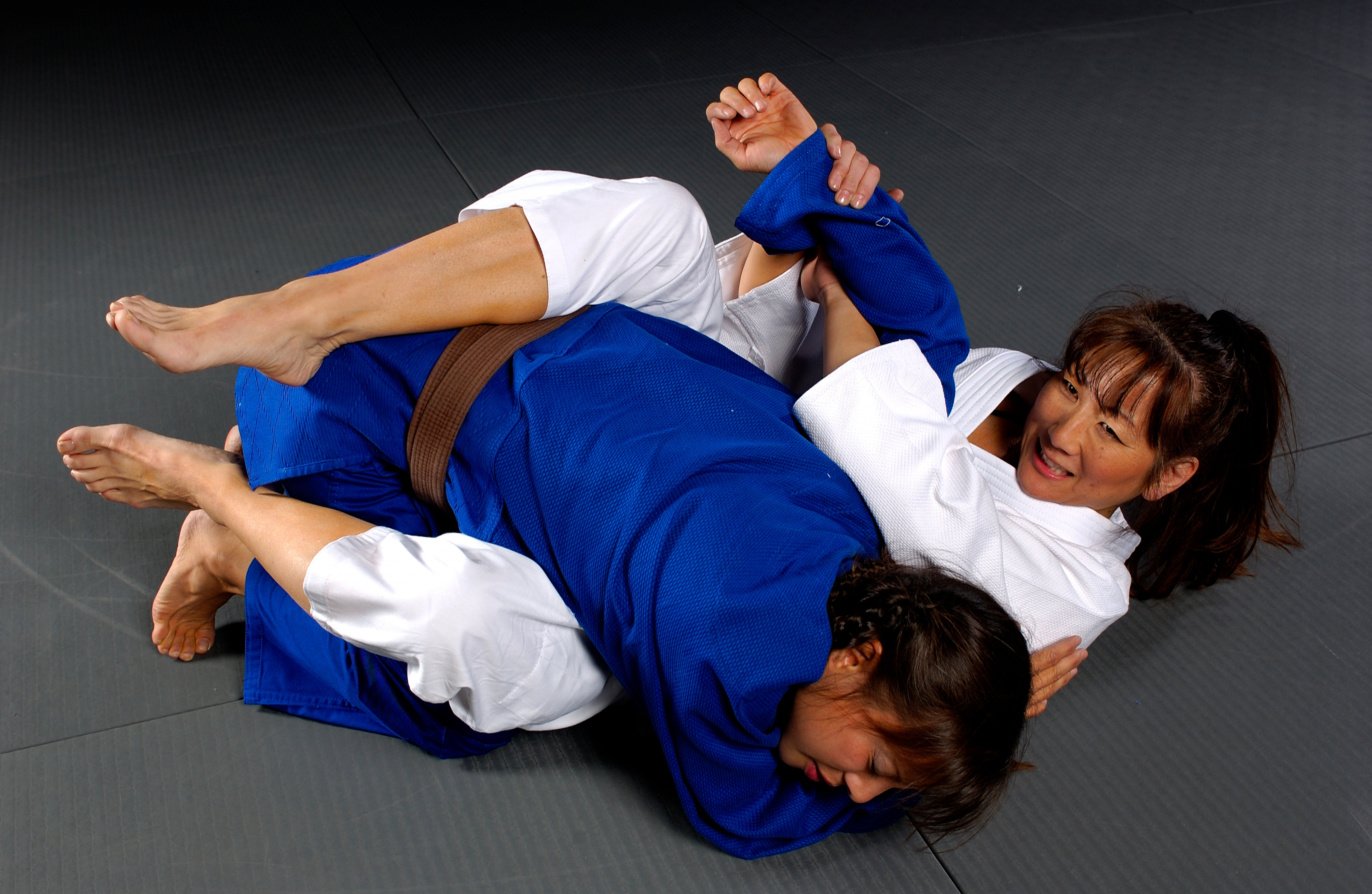 Jiu jitsu is a grappling art that doesn't have punches or kicks.