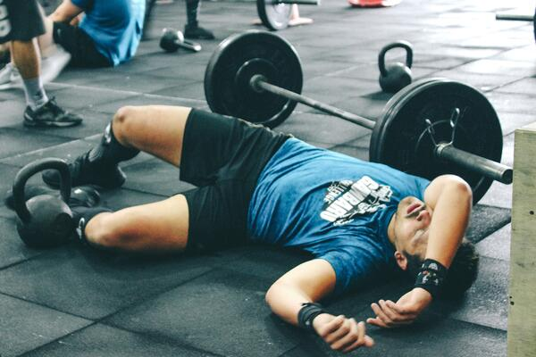 Overworking your body can cause fitness problems, as well as not working out hard enough.