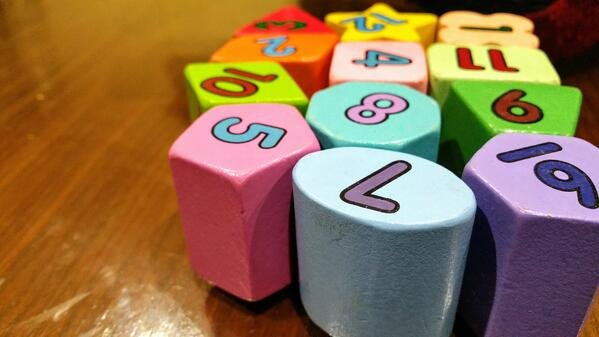 Number blocks.